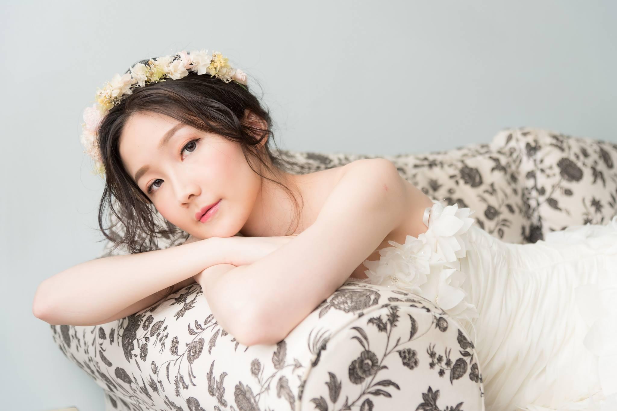 新娘髮型 漢服及白紗造型 柔蓁