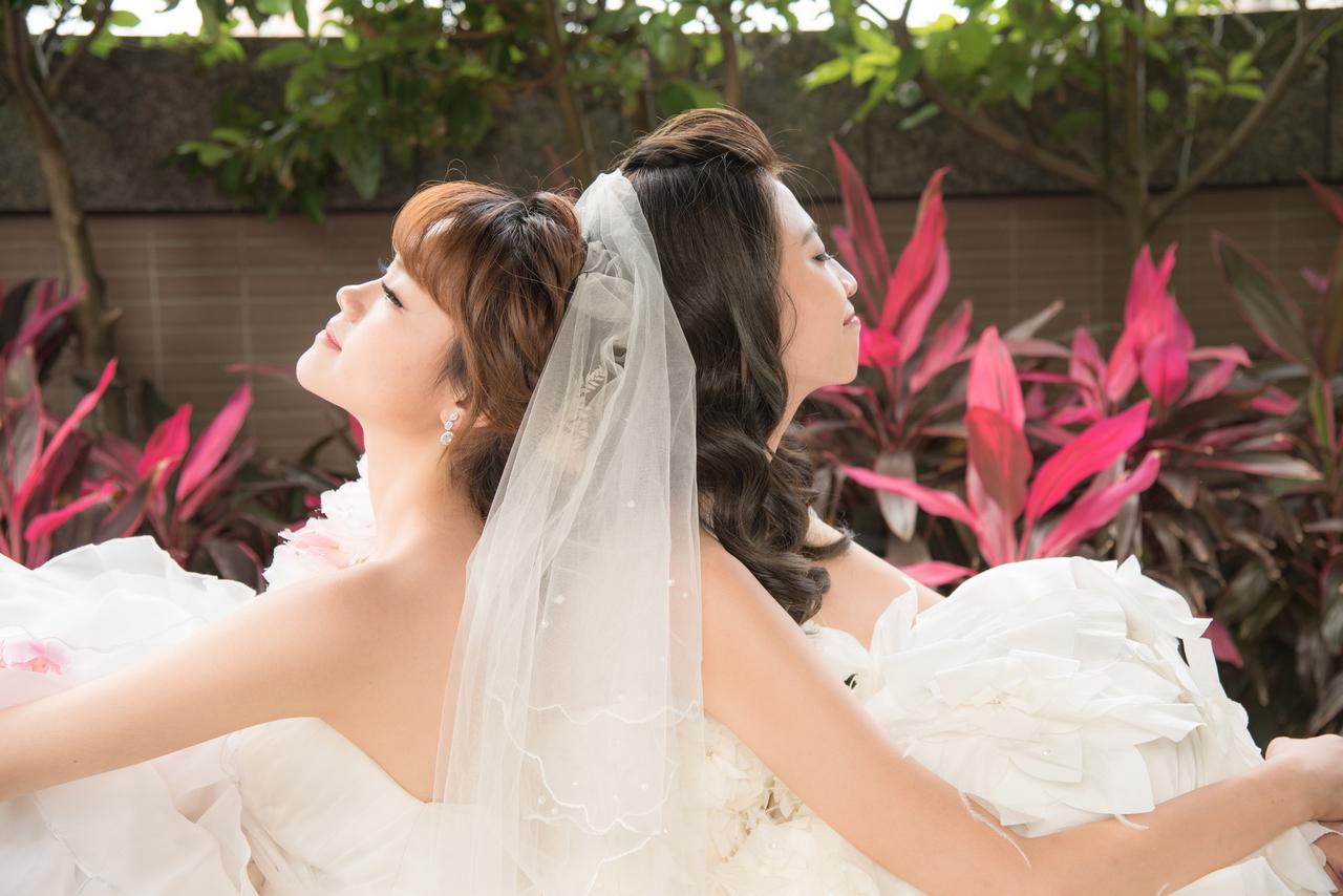 新娘造型 低馬尾造型 翊寧
