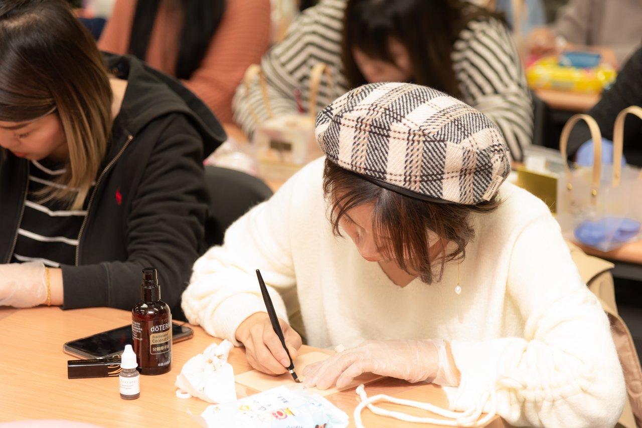 紋繡行銷活動攝影紀錄 Nina魔睫殿 晨星針發表會