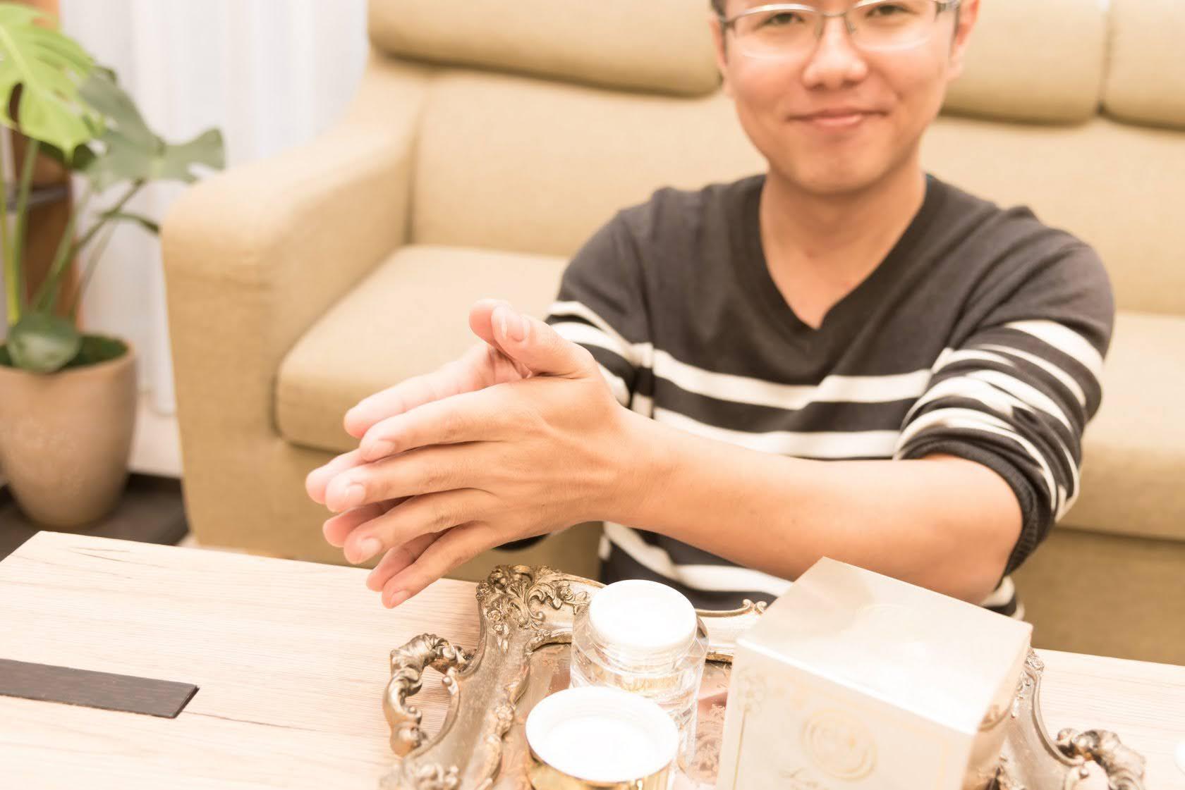 貴婦霜 男生體驗過程紀錄 滋養新體驗