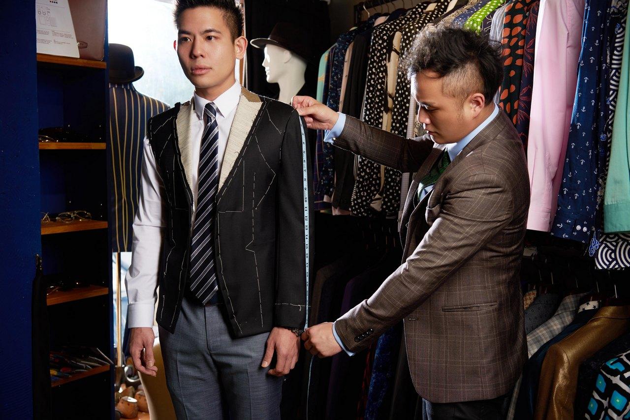 夢想與信念的堅持 SENSEMAN西裝專賣店